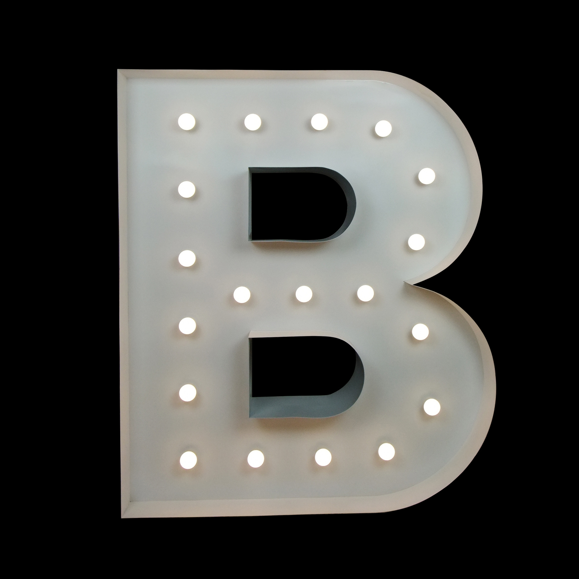 Big Letter Hire - B