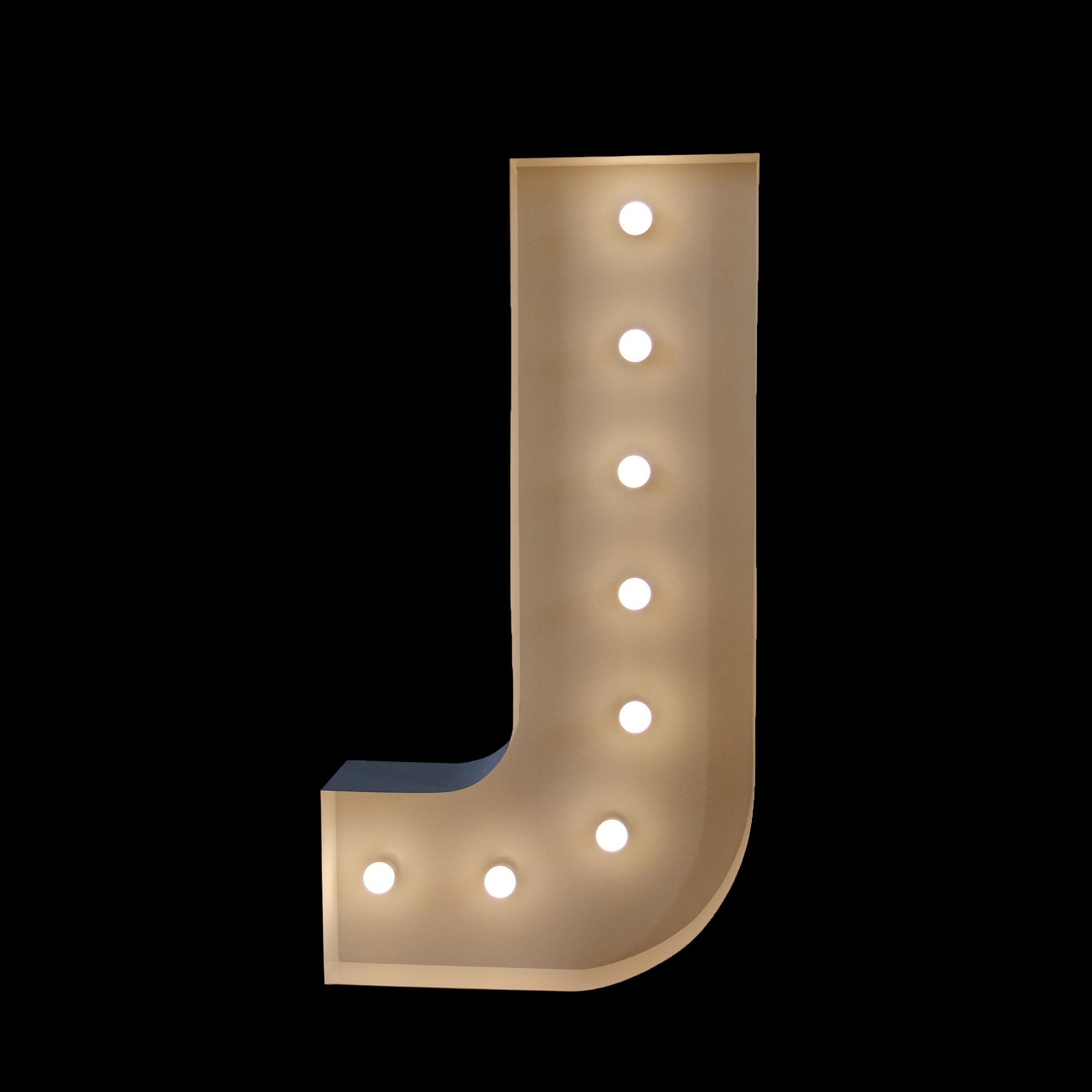 wedding letters - giant letter j for hire