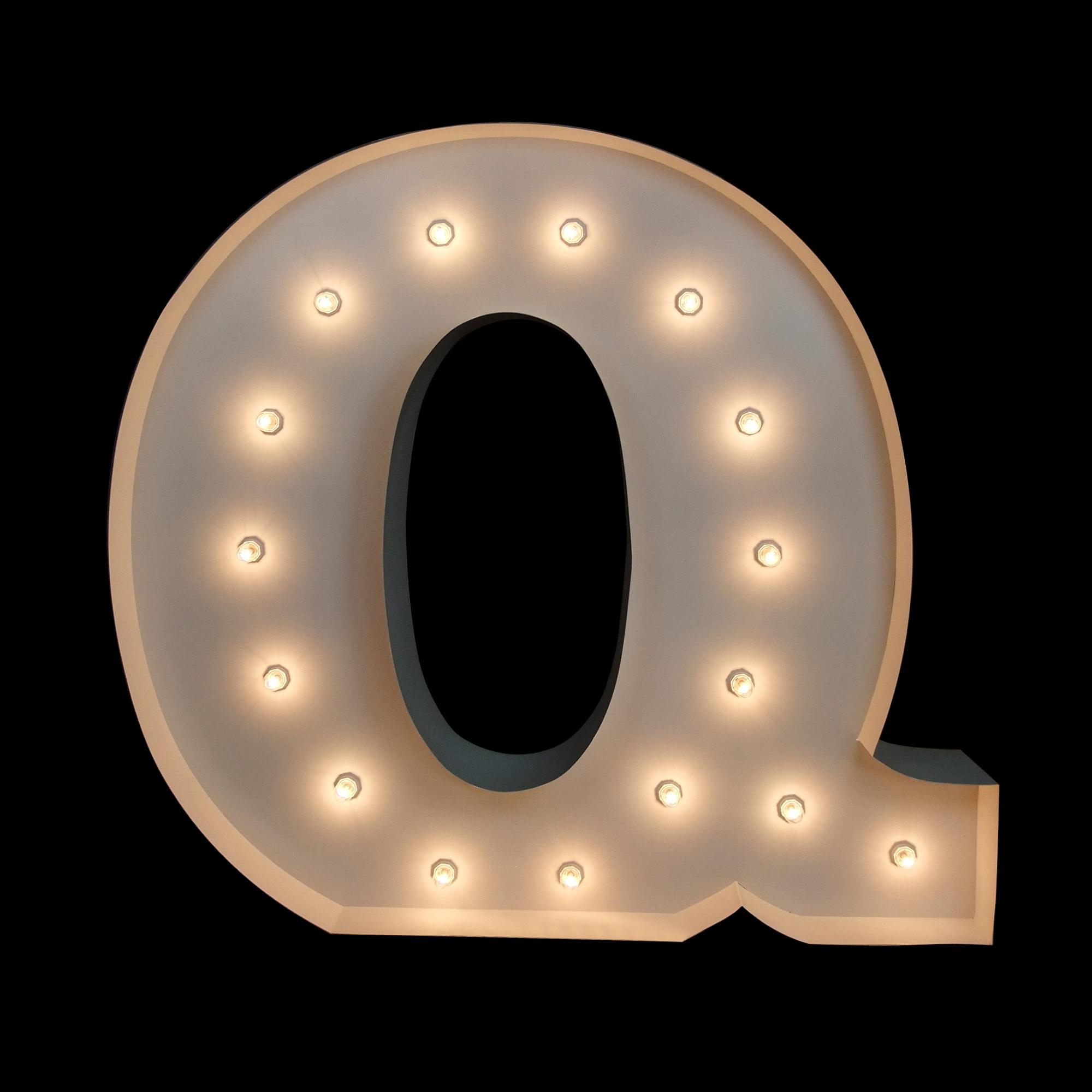 big letters For Hire Brisbane - Light UP letters