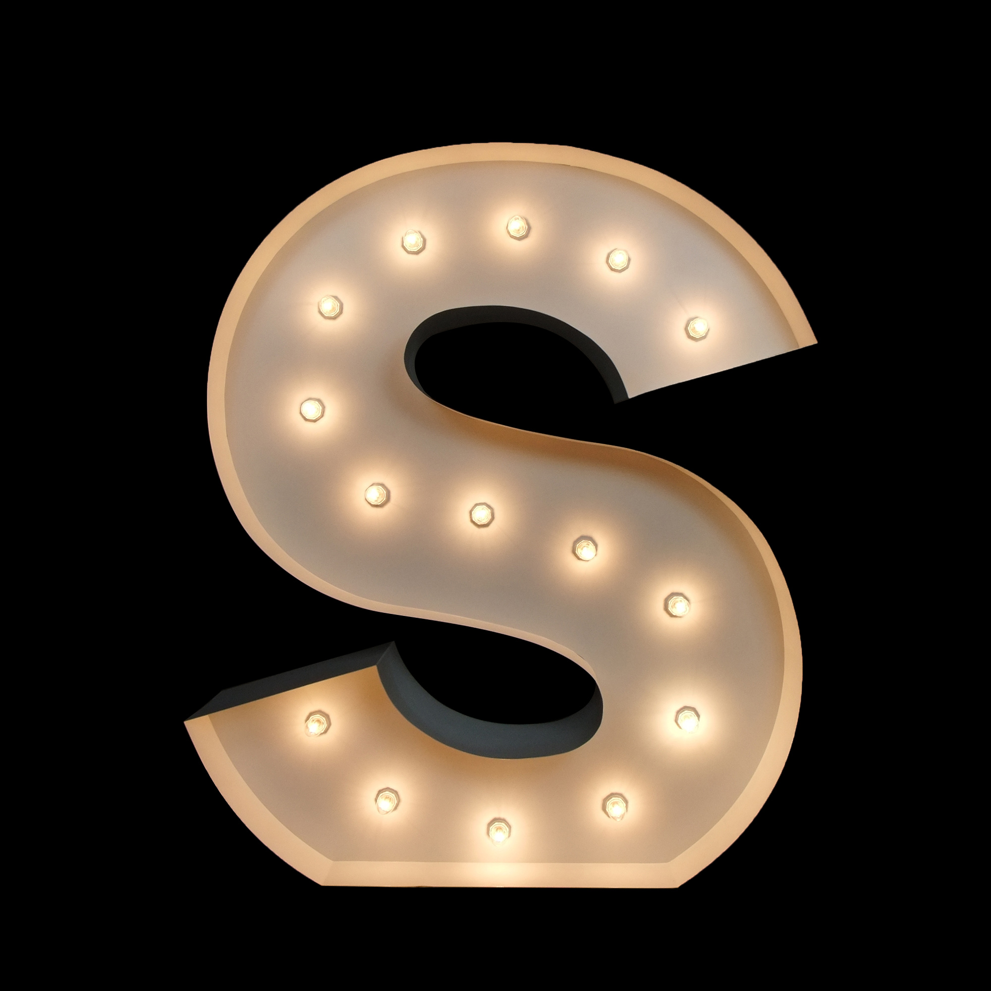Hire light up letters for weddings
