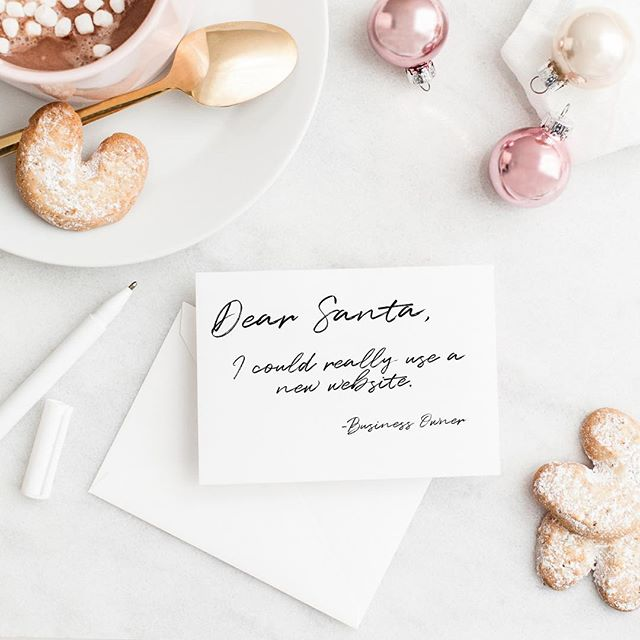 Is everyone getting those letters ready for Santa?! With less than a month until Christmas, Square Creatives is now accepting clients for 2019! Message me for a proposal on your next project. 💕💕