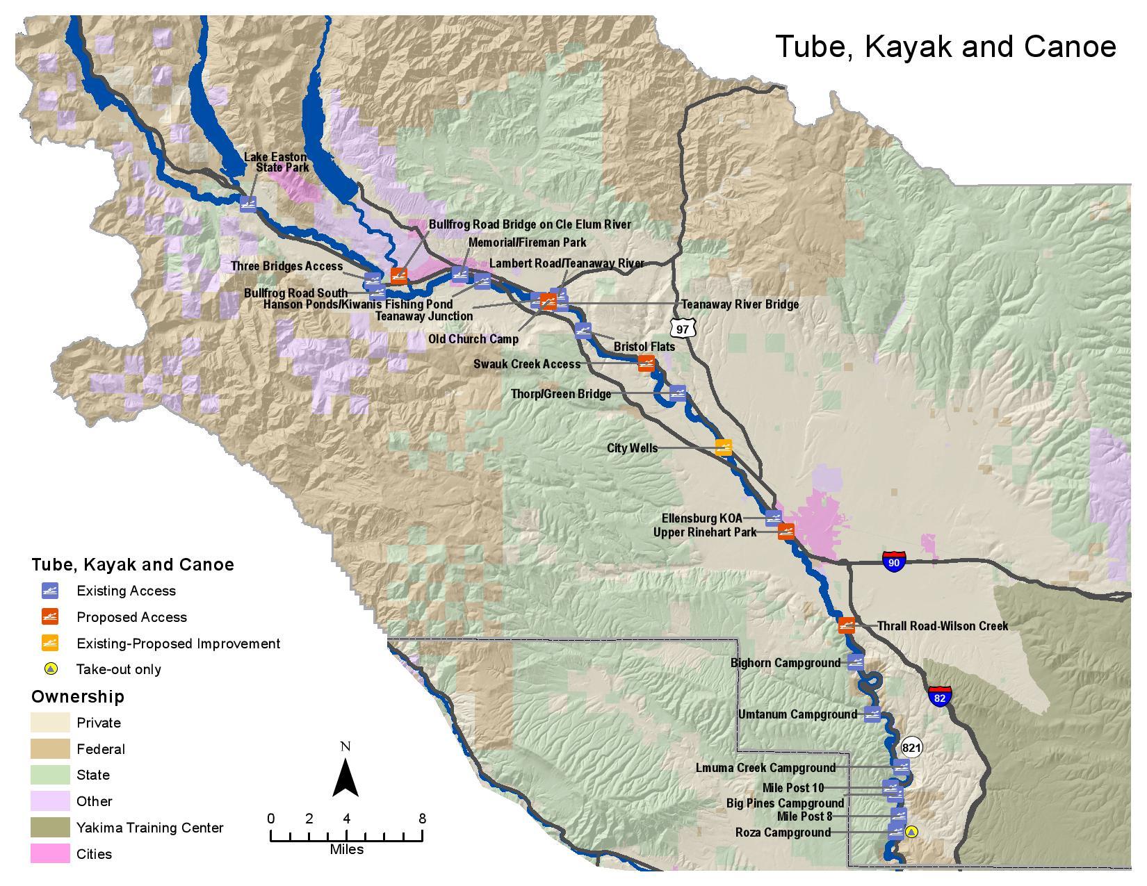 Yakima Access Study - Kayaking & Tubing