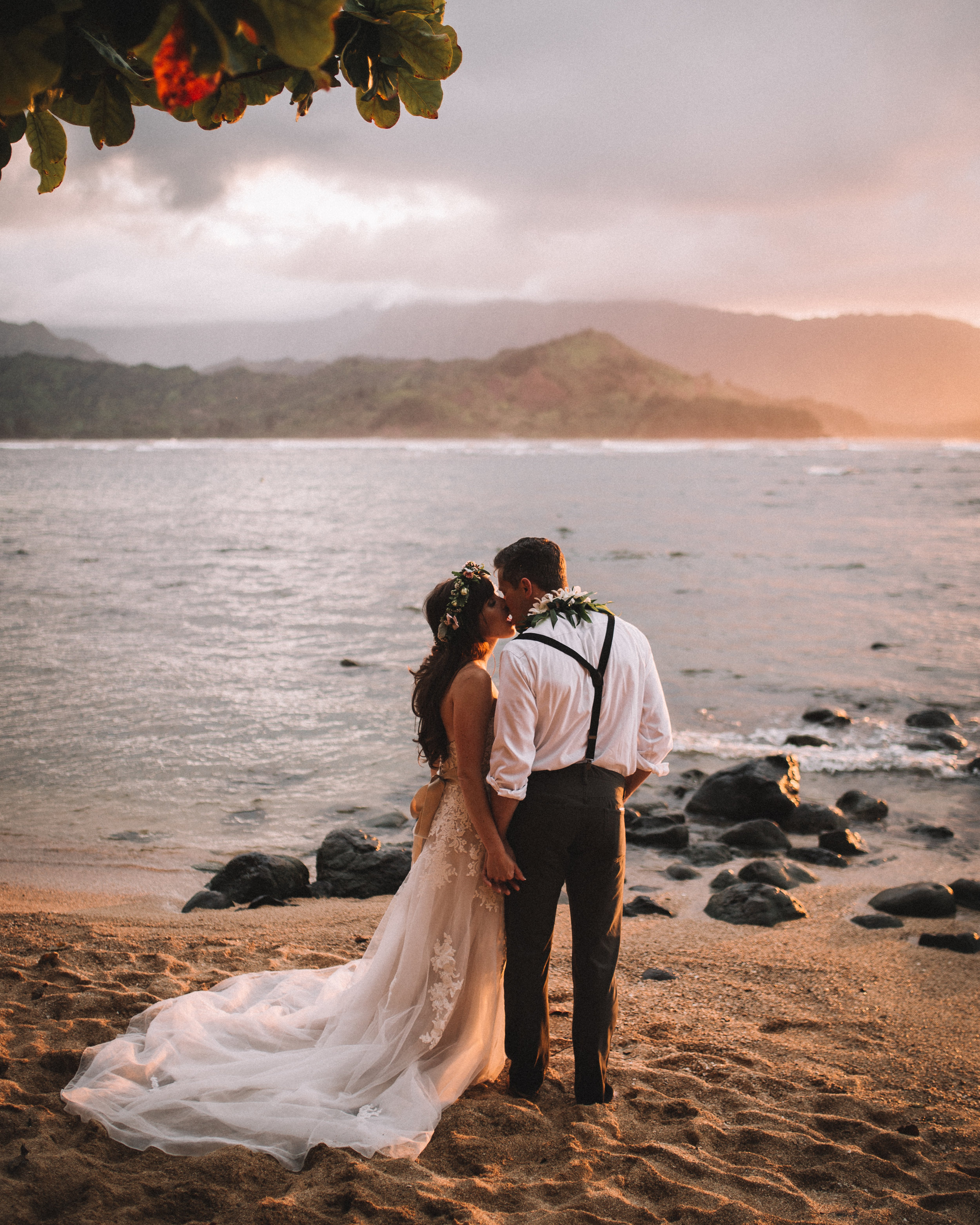 kauai wedding photo