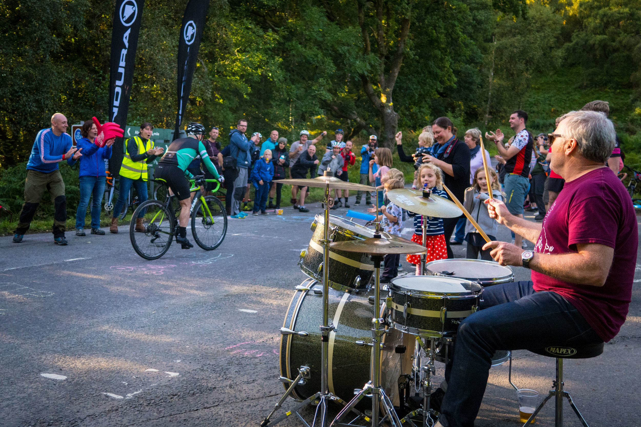 The hillclimb had an incredible atmosphere last year…. We're hoping to get as many locals as possible out to support the riders.