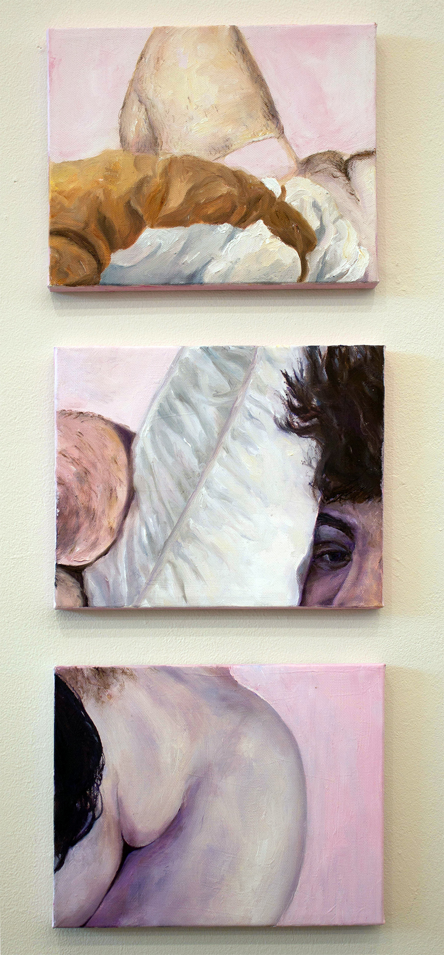 - oil on canvas8 x 10 inches each2018