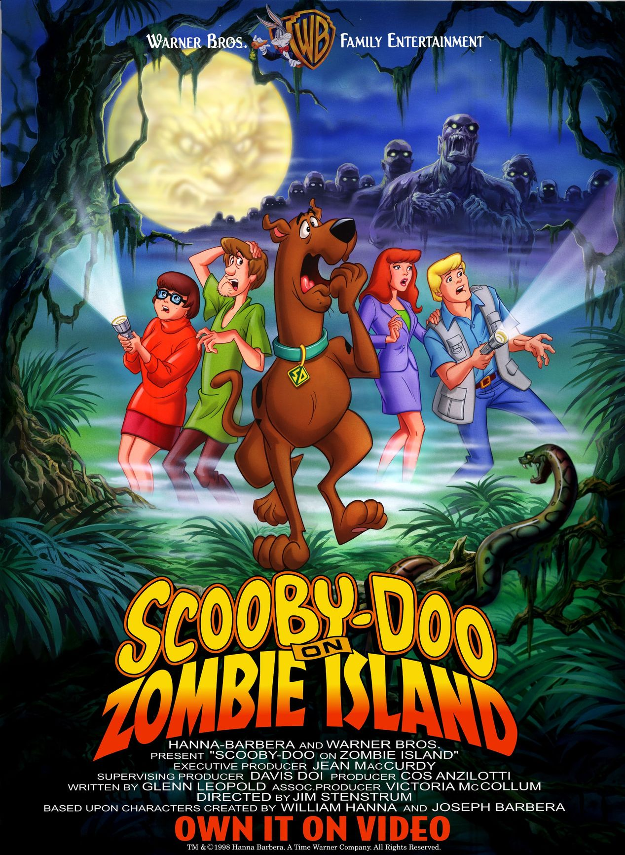 Scooby doo on zombie island -