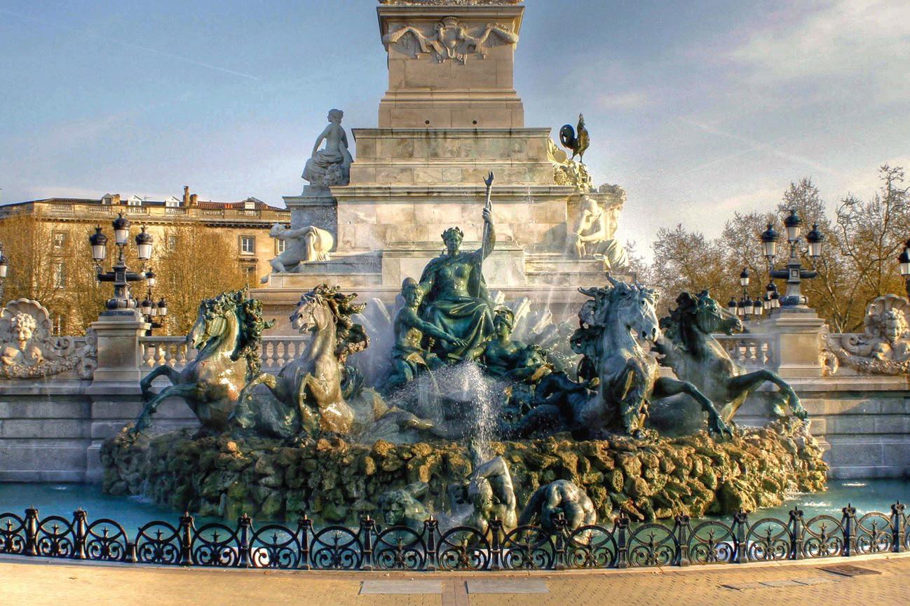 Monument aux Girondins, Place des Quinconces, Bordeaux