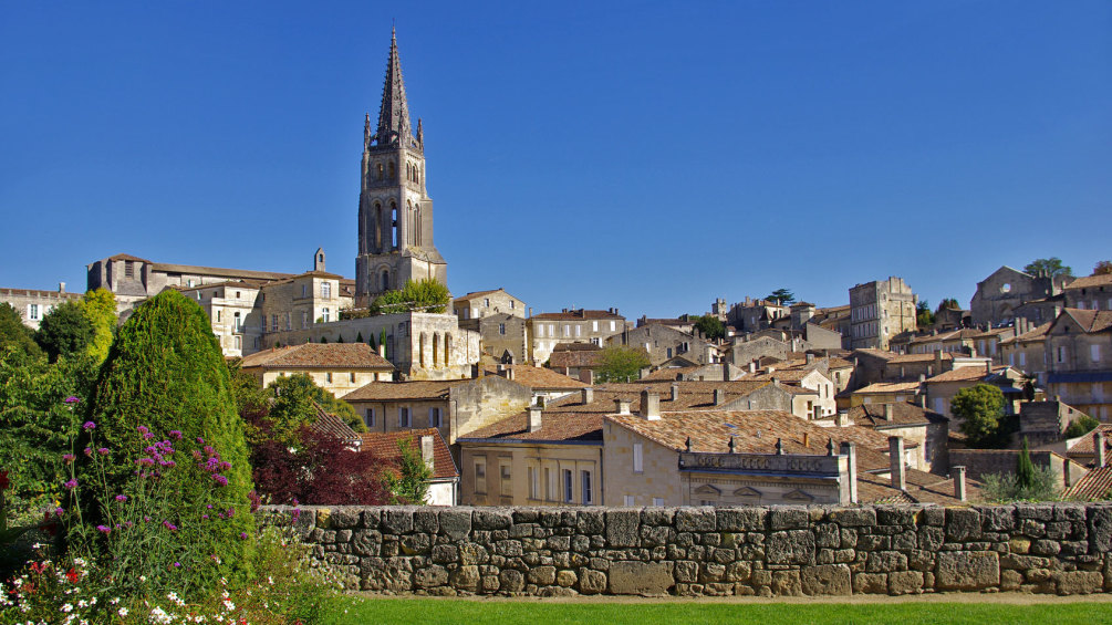 Saint Emilion on a beautiful day