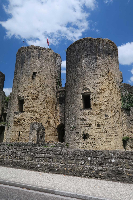 Chateau de Villandraut...very cool!