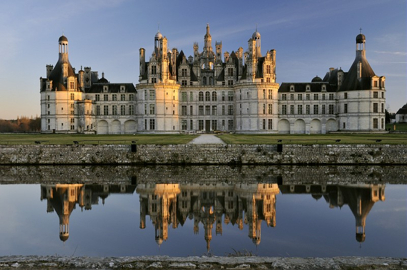 Chambord, the fairy tale castle of Francois I