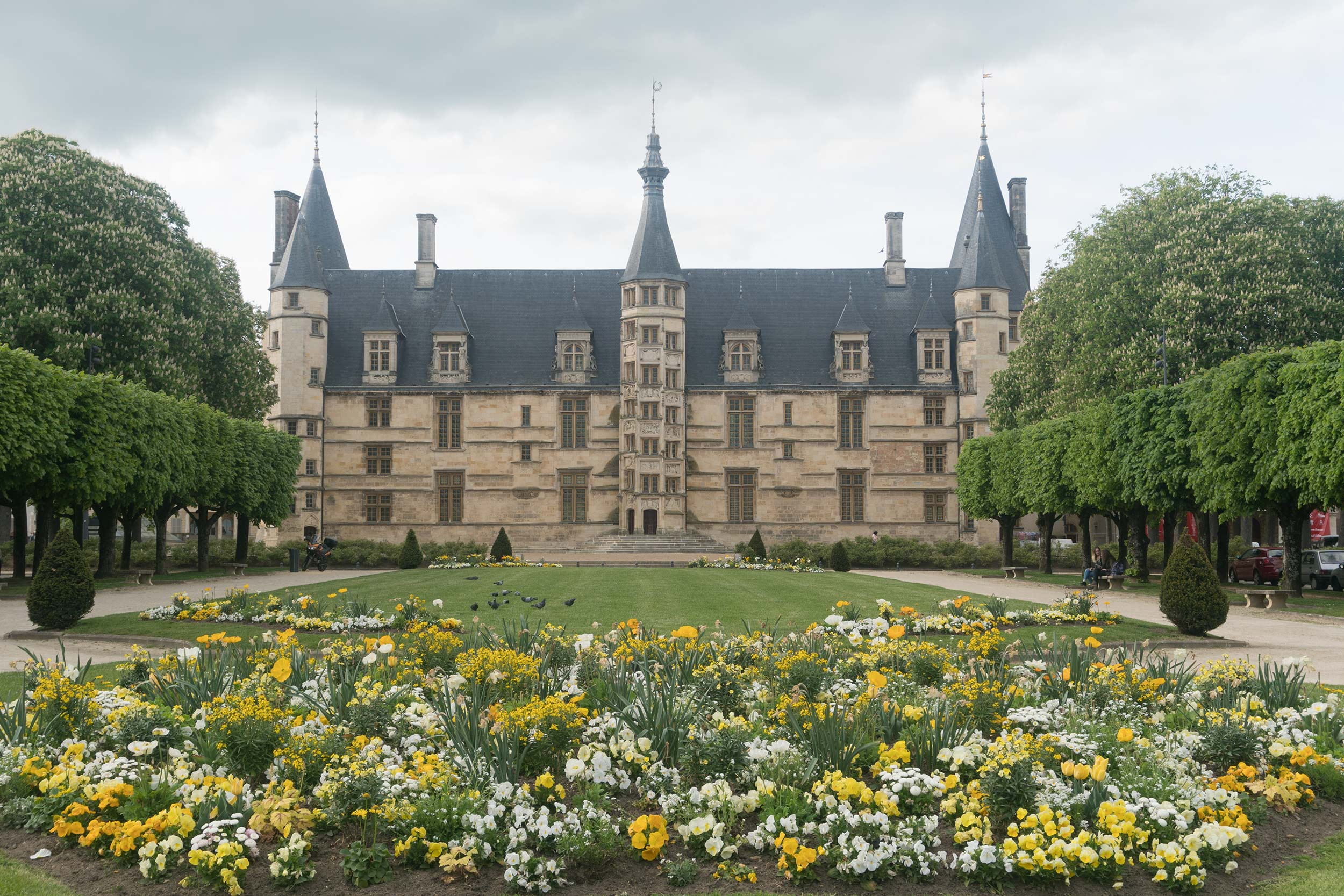 The Palais Ducal Nevers