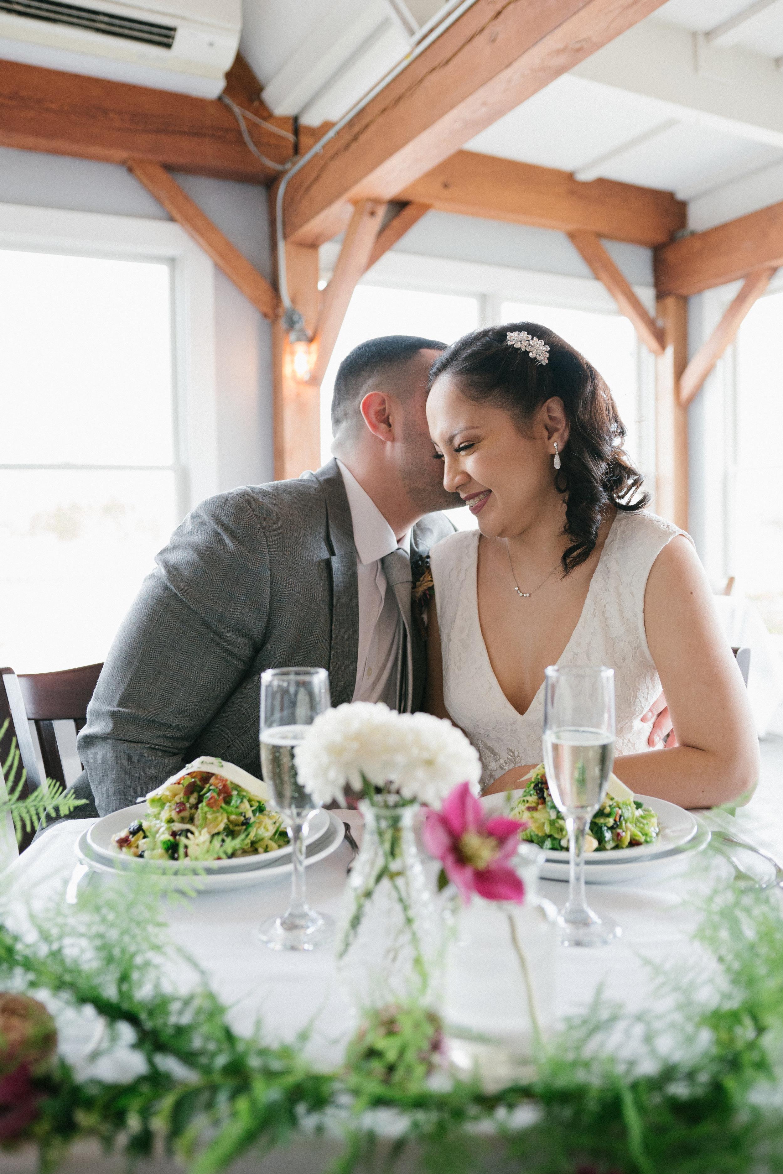 Spring wedding colors