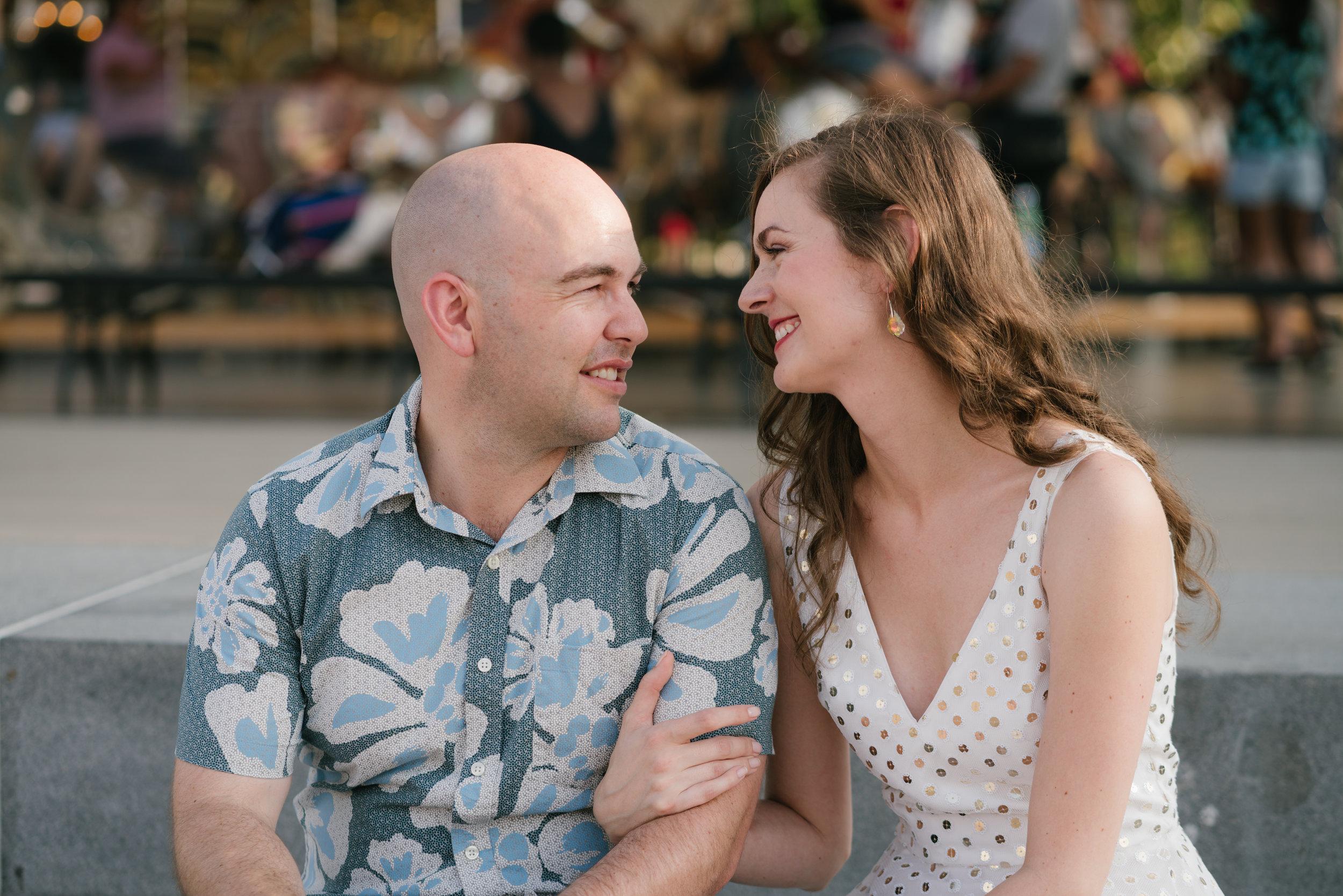 nyc wedding engagement