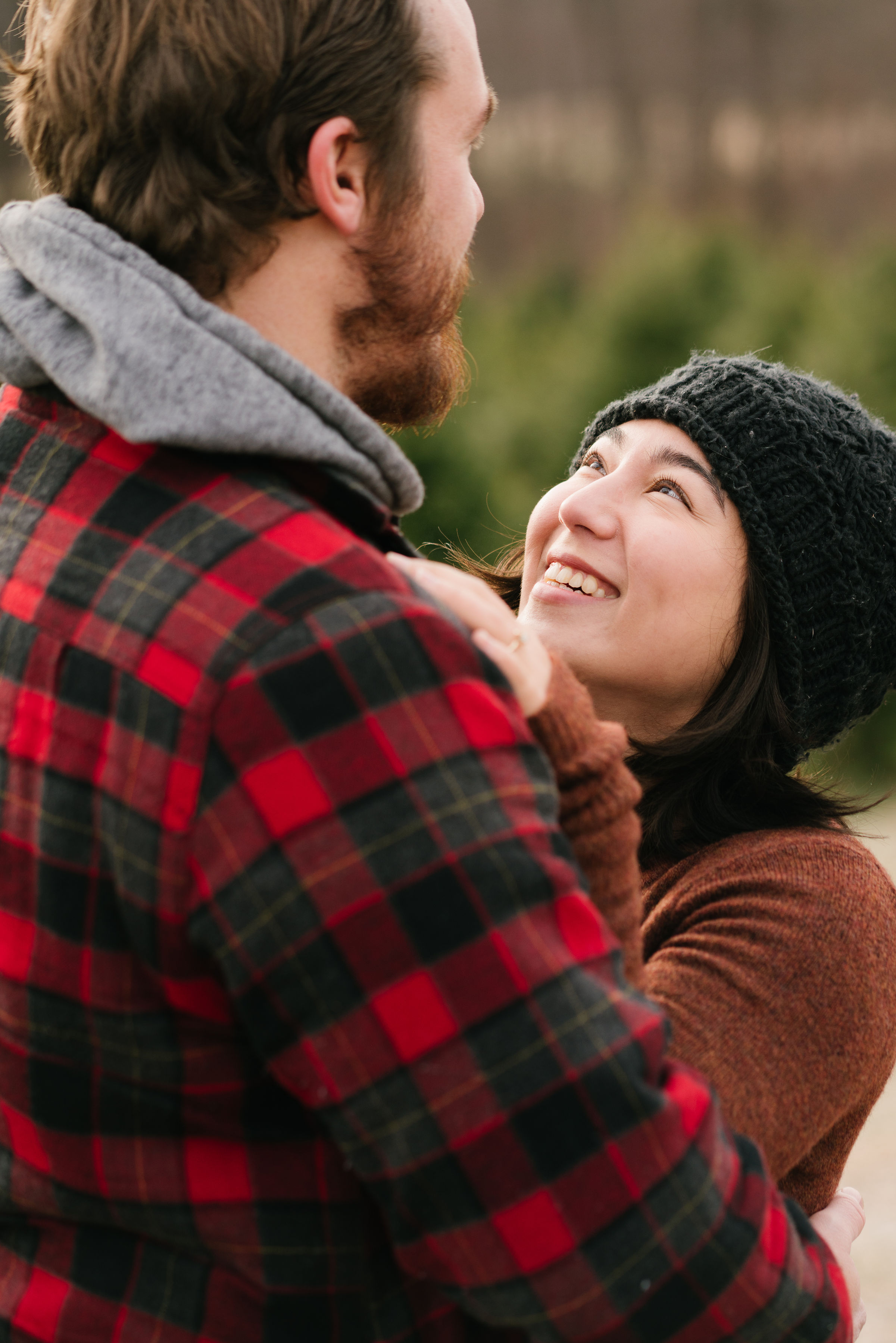 engagement at maple row tree farm easton,ct