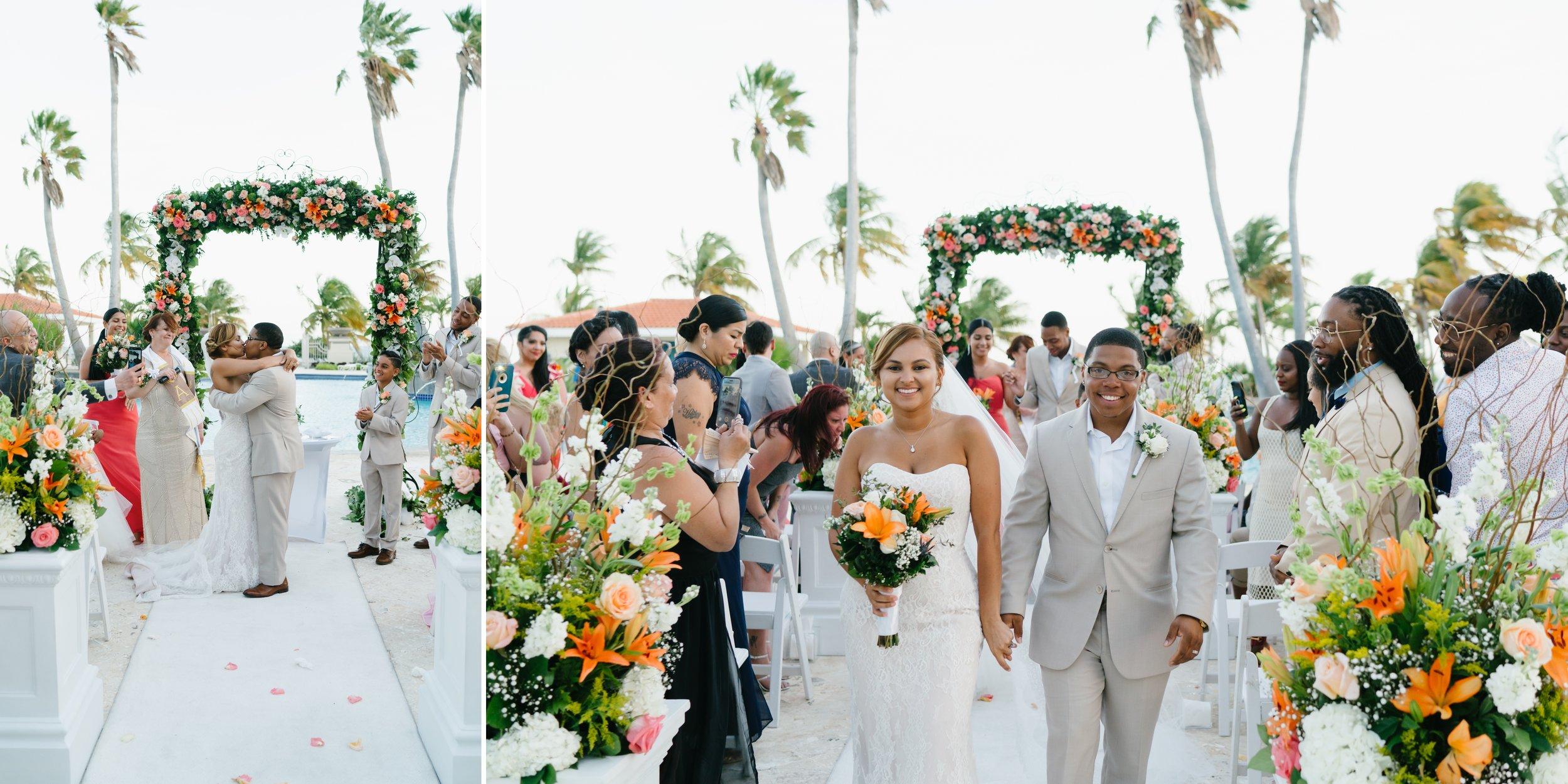 wedding on the beach in Puerto Rico
