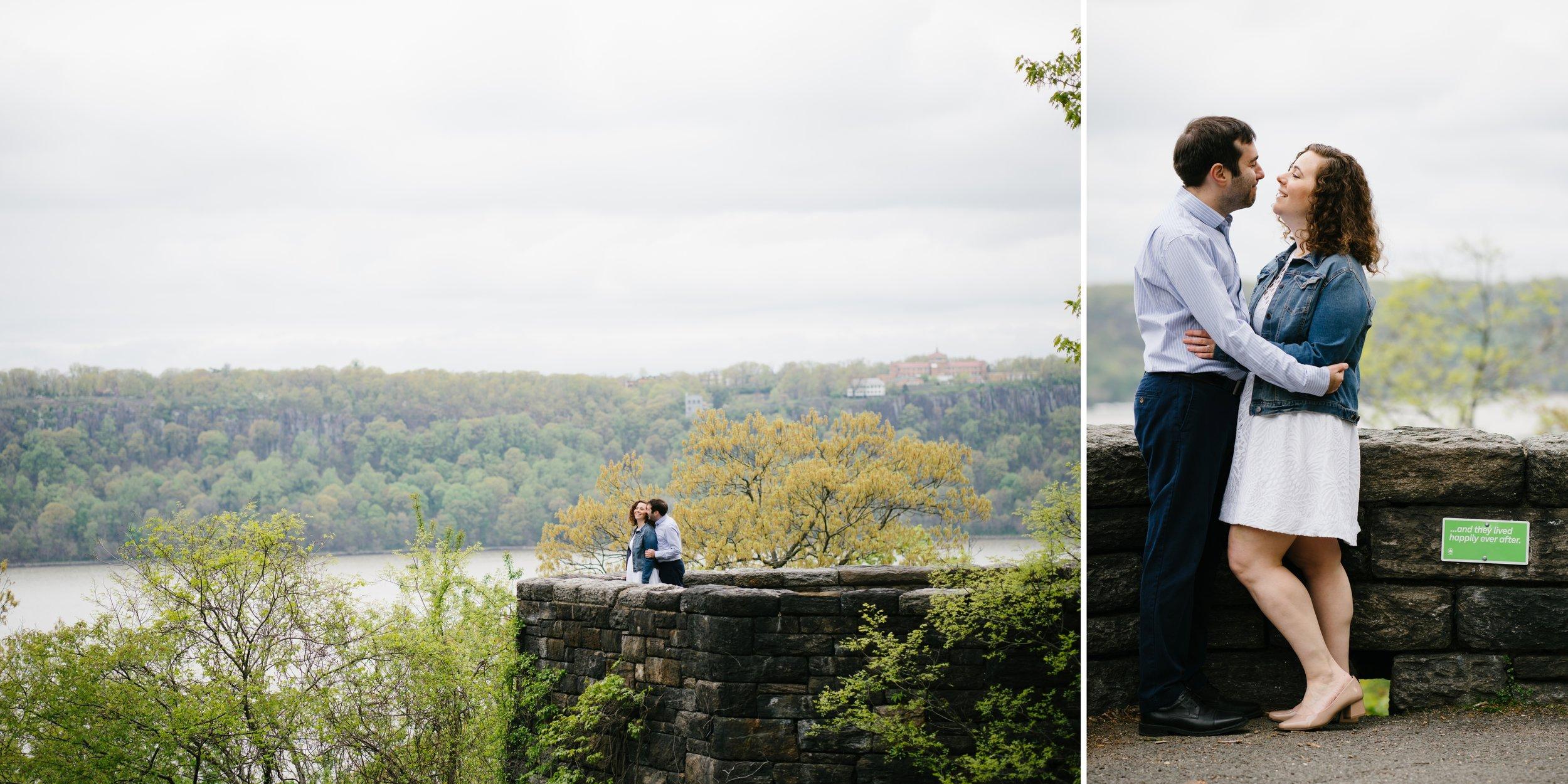 NYC wedding photographer - engagement session