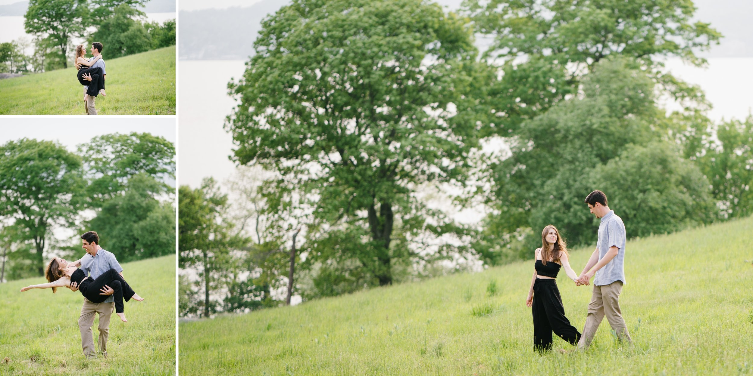 Rockefeller state park engagement session