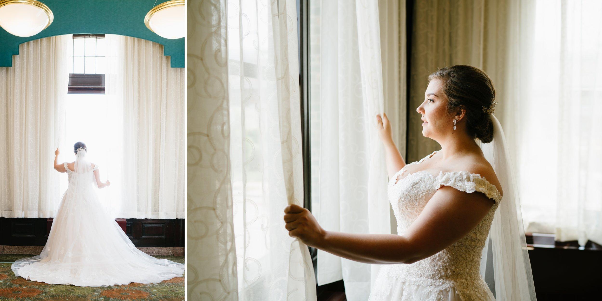 bride in los angeles wedding