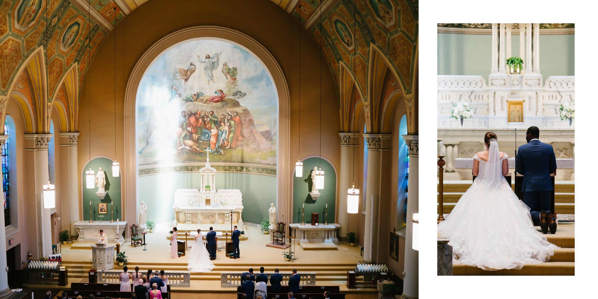 wedding in church los angeles