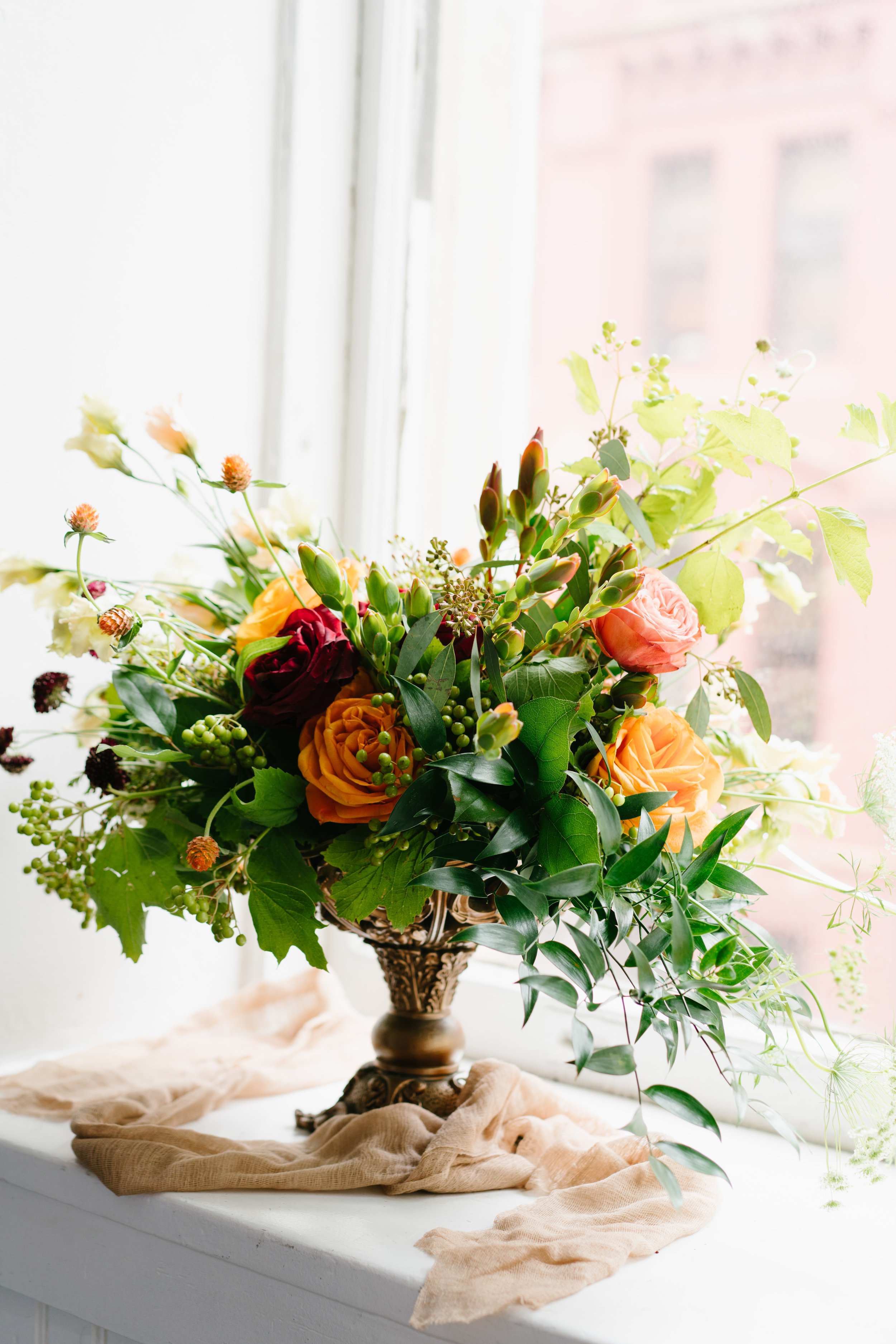 photo of wedding bouquet by los Angeles wedding photographer