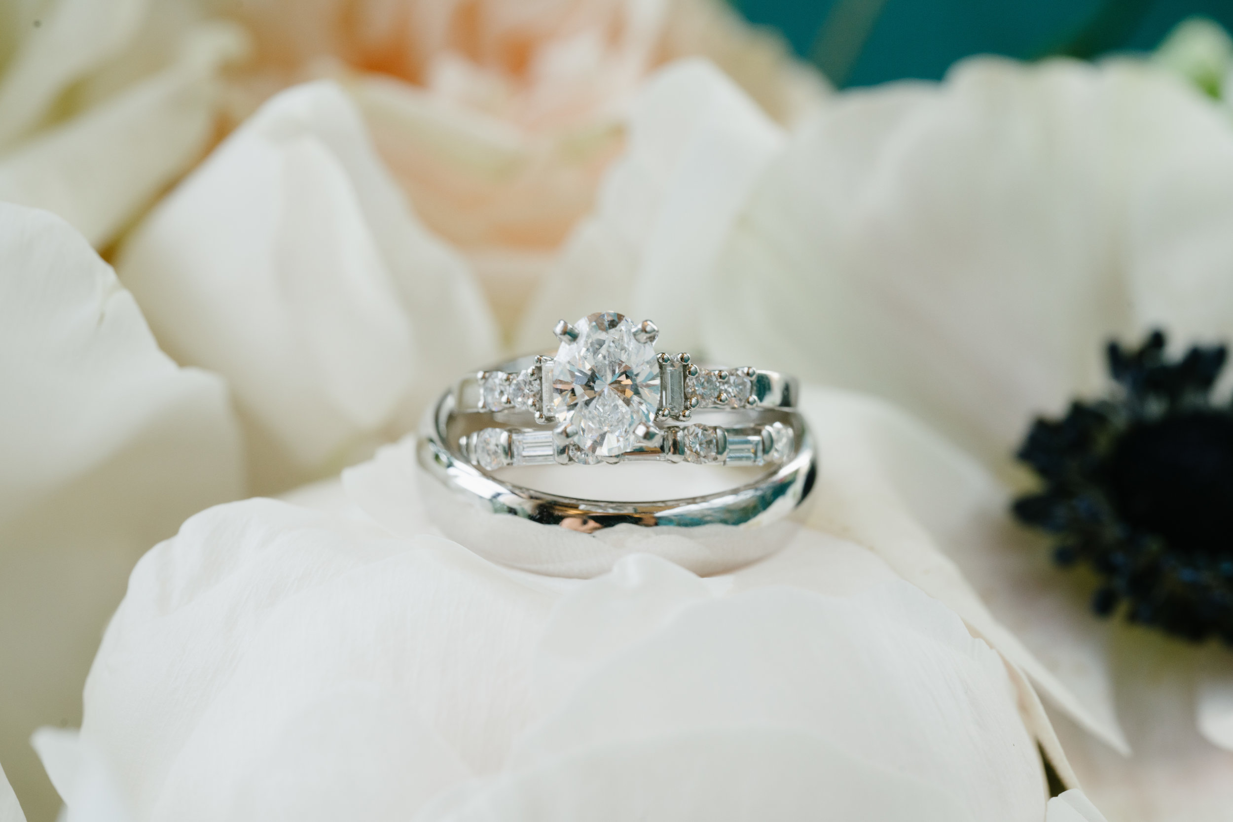 wedding ring at los angeles wedding