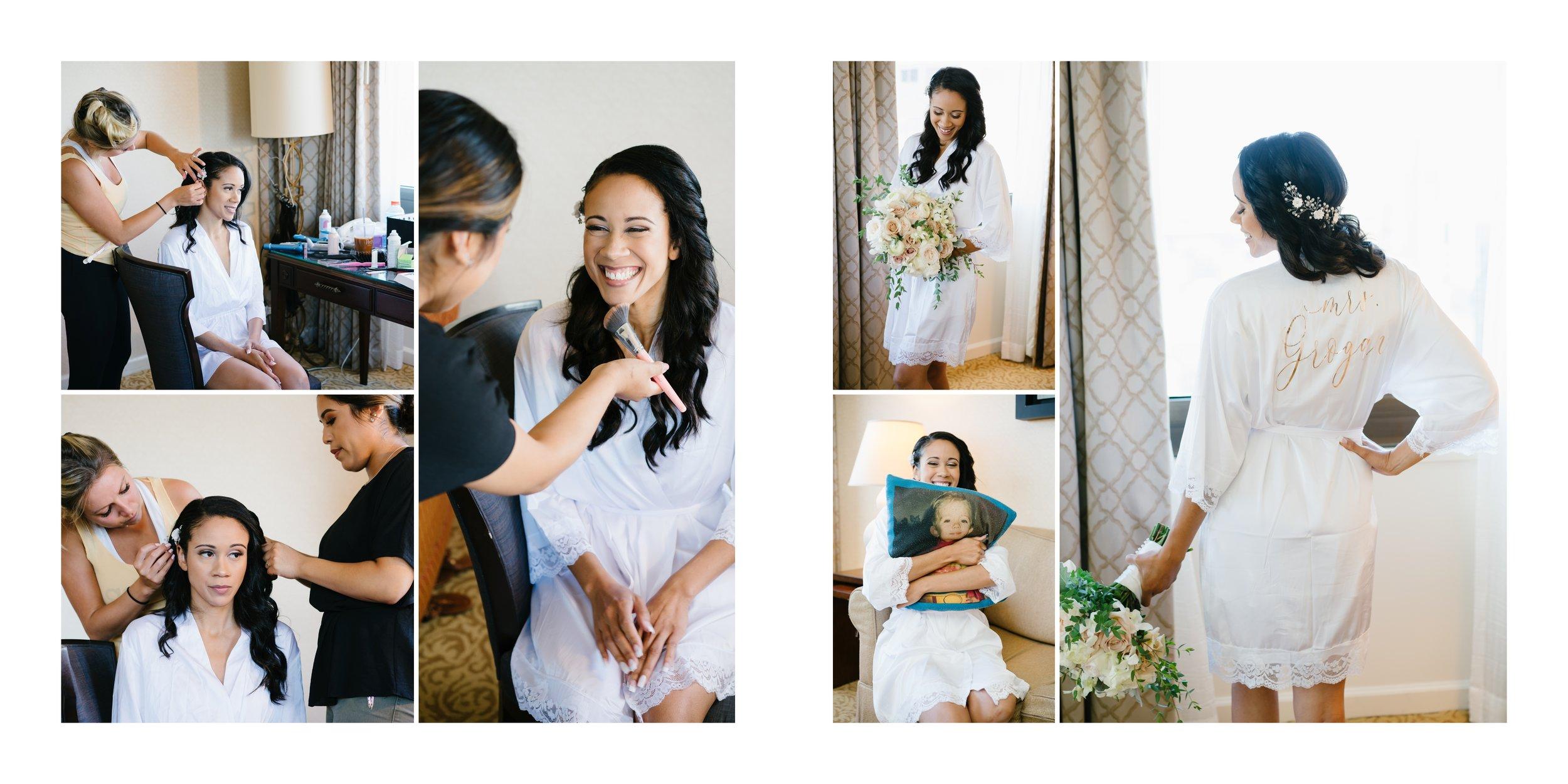 bride getting ready | los angeles wedding photographer