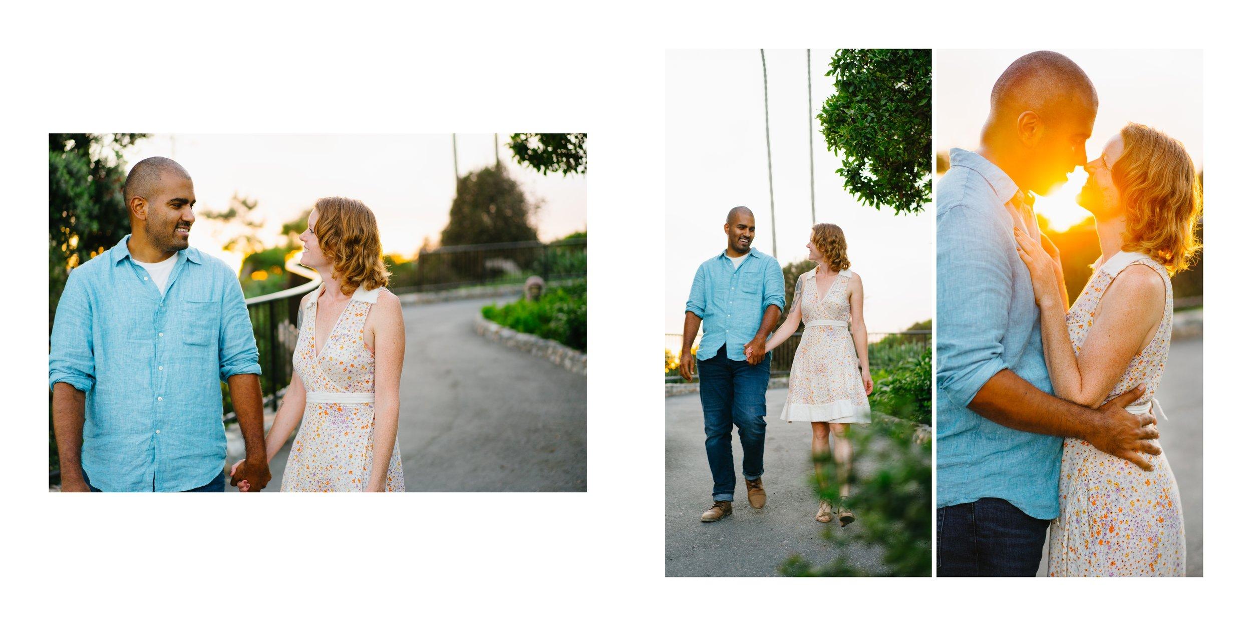 Heisler Park engagement session