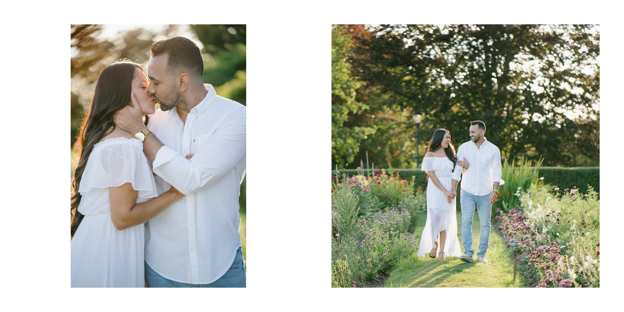 engagement session at greystone gardens