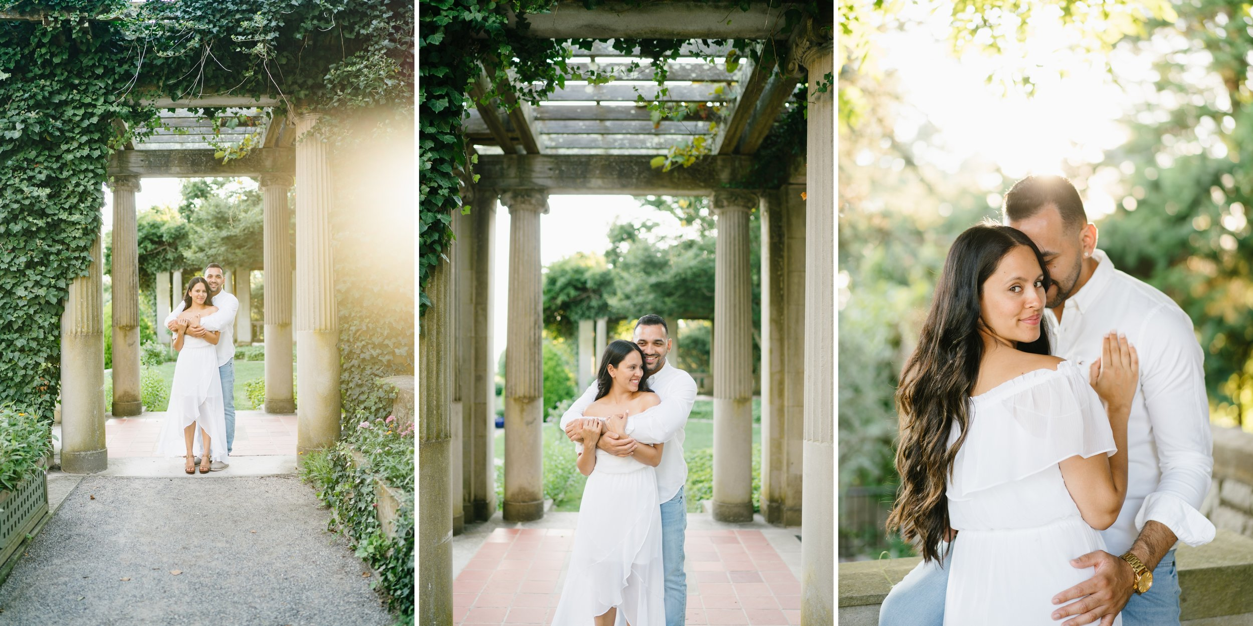 engagement session at the Huntington library