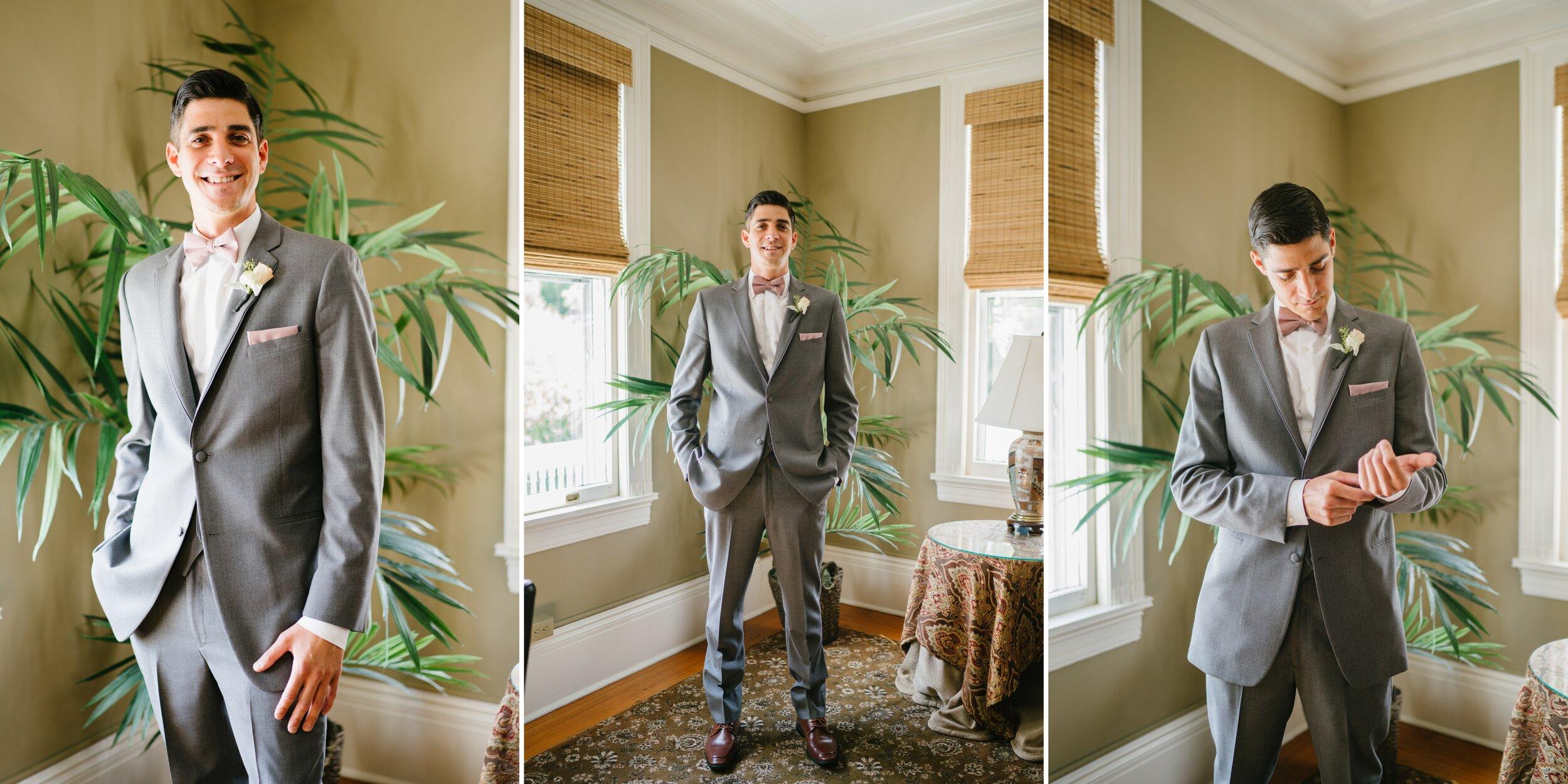 groom at Lounsbury house