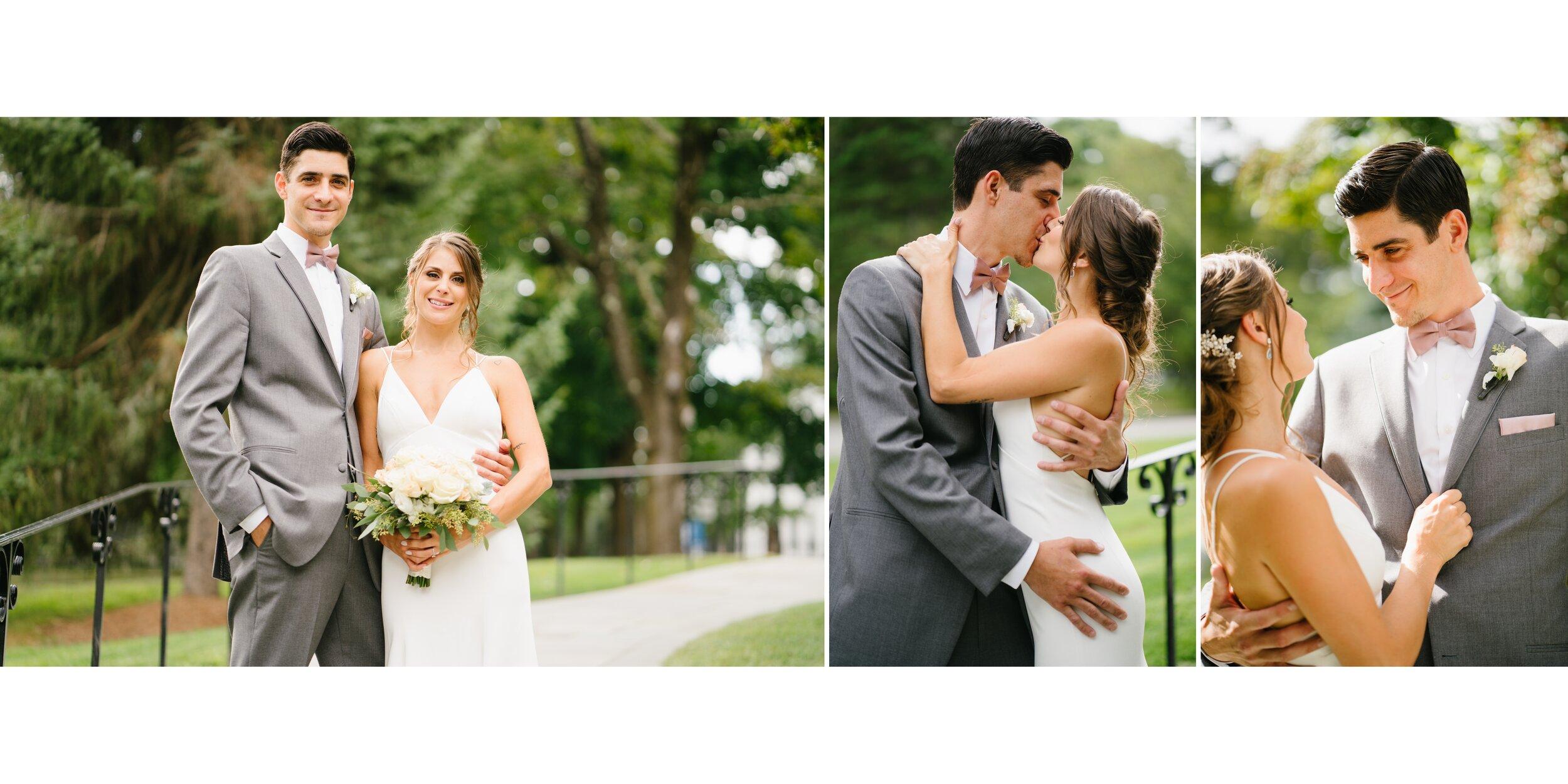wedding at Lounsbury house