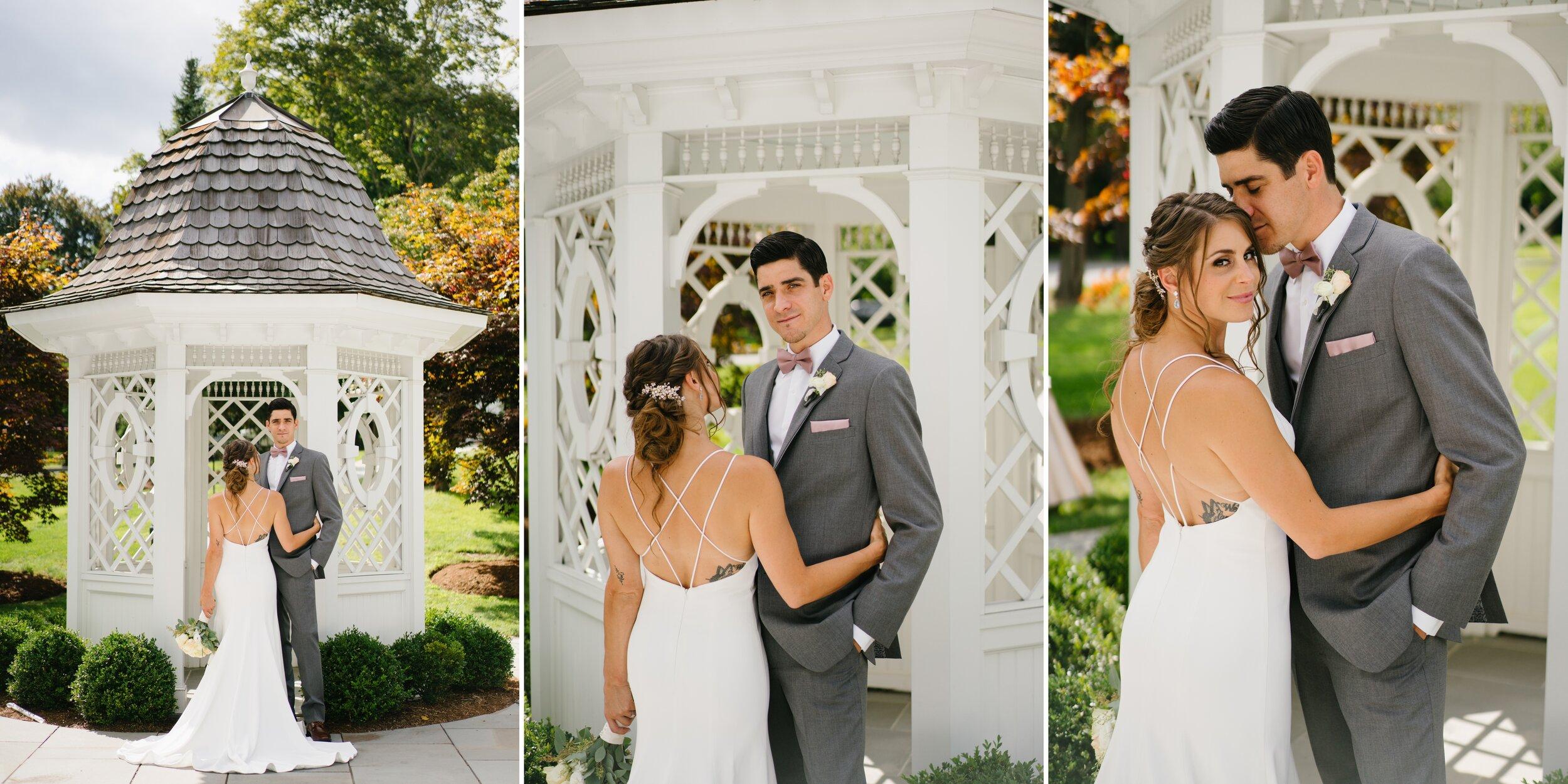 couple at Lounsbury house