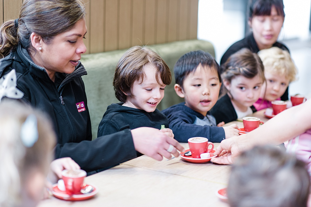 Sentia Early Learning child care day care Melbourne city excursion walks city