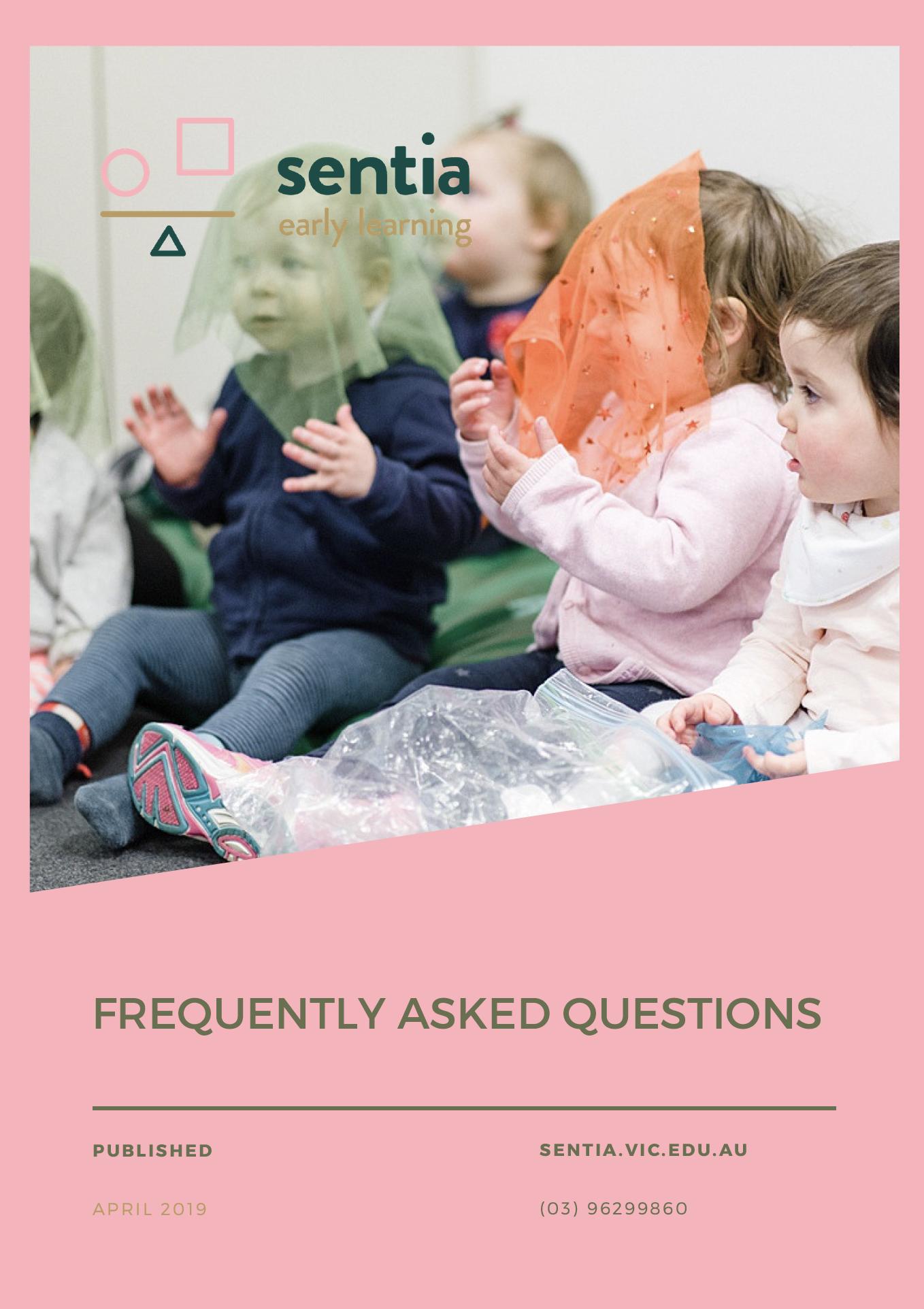 Sentia FAQ's