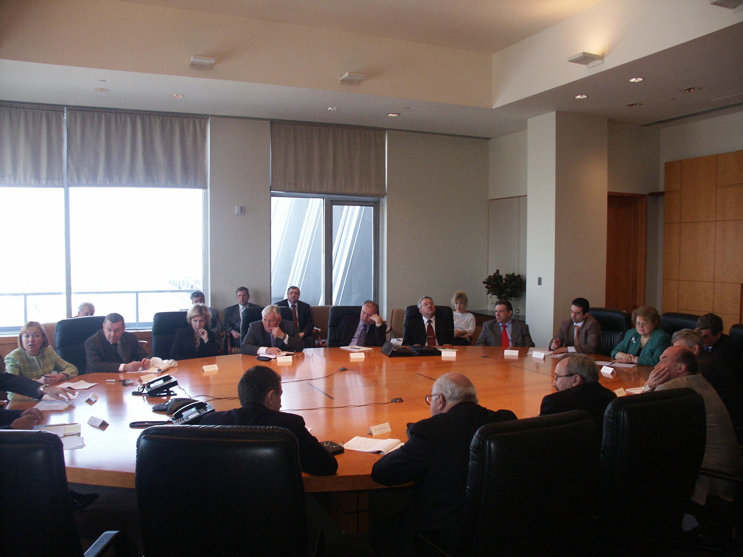 Заседание круглого стола - ГАЗПРОМ, New-York
