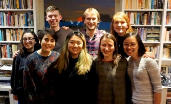 The BCCIC Youth Delegation, including Marina, Caroline and former mentee Sophia Yang!
