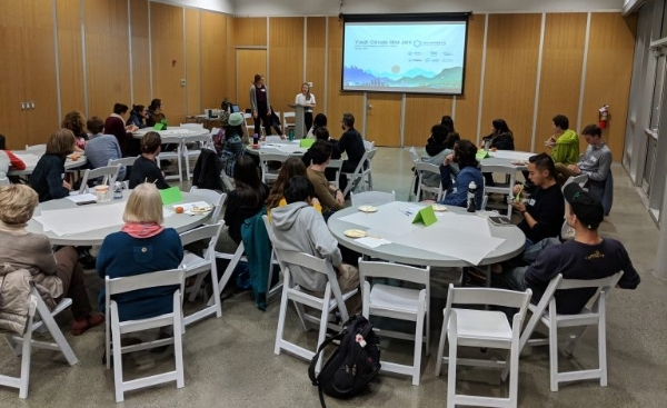The Youth Climate Idea Jam, hosted by Climate Guides & CityHive, was a BC youth consultation.