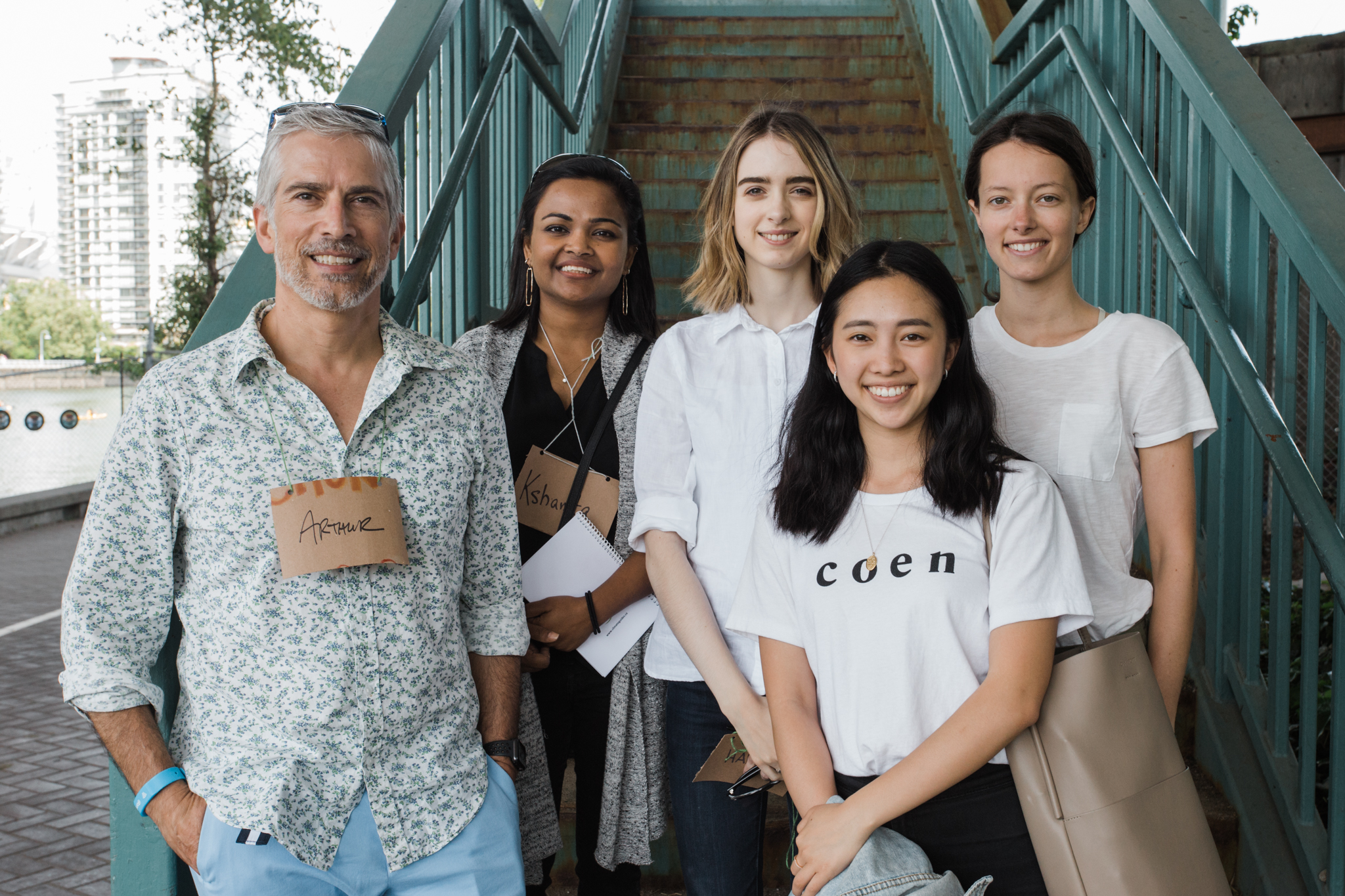 Climate Guides Cities Team: Arthur, Kshamta, Hannah, Fumika, and Frédérique.