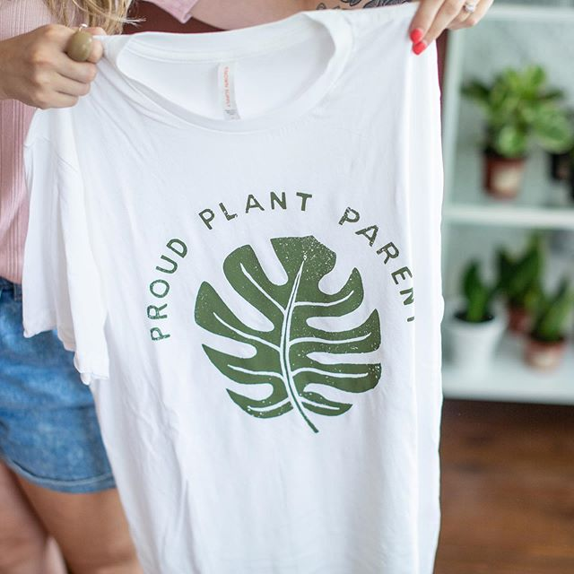 Even our Proud Plant Parent shirts are on sale Saturday! 30% off!! Come grab one before they're gone!