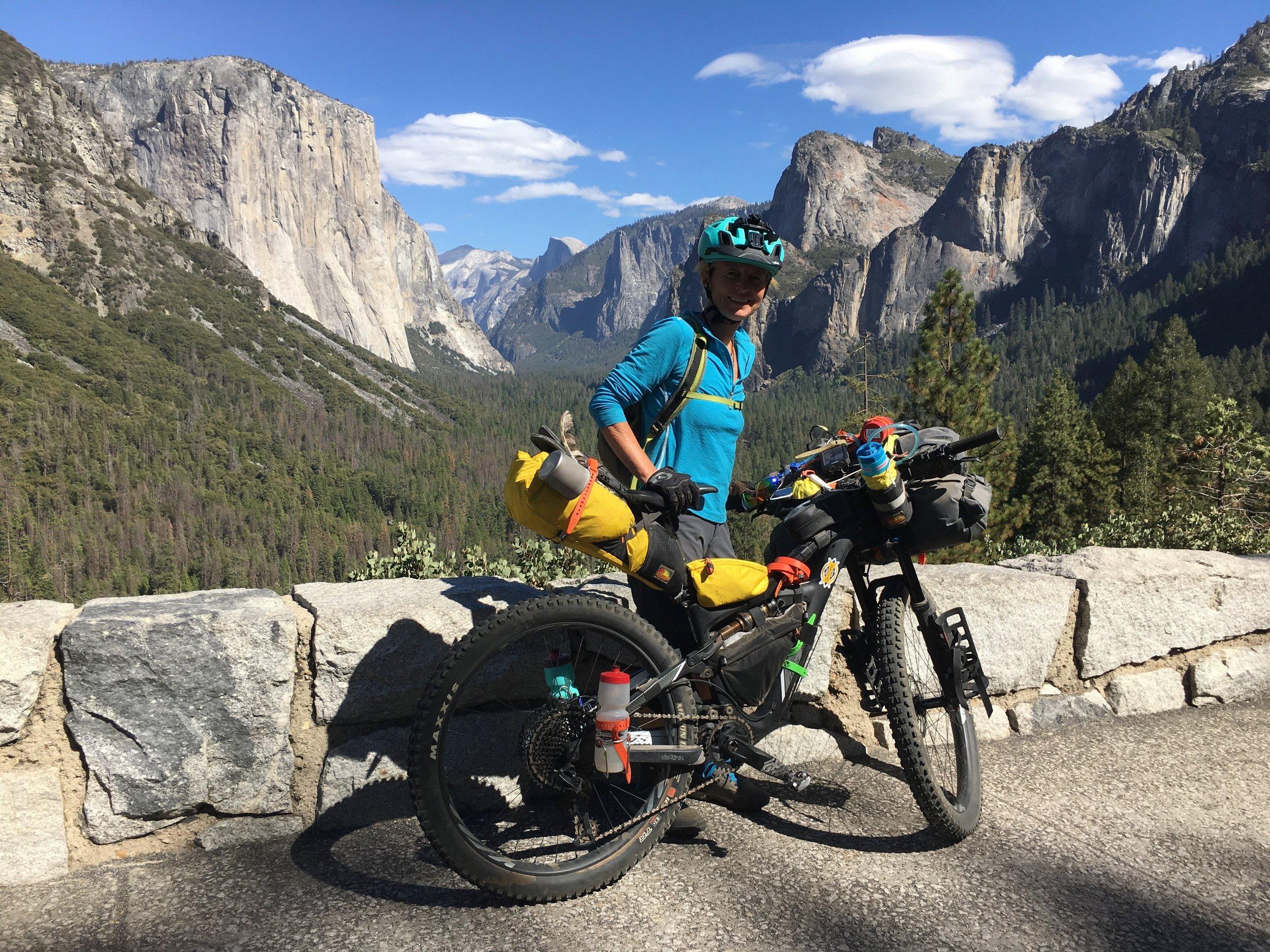 Climbing out of Yosemite