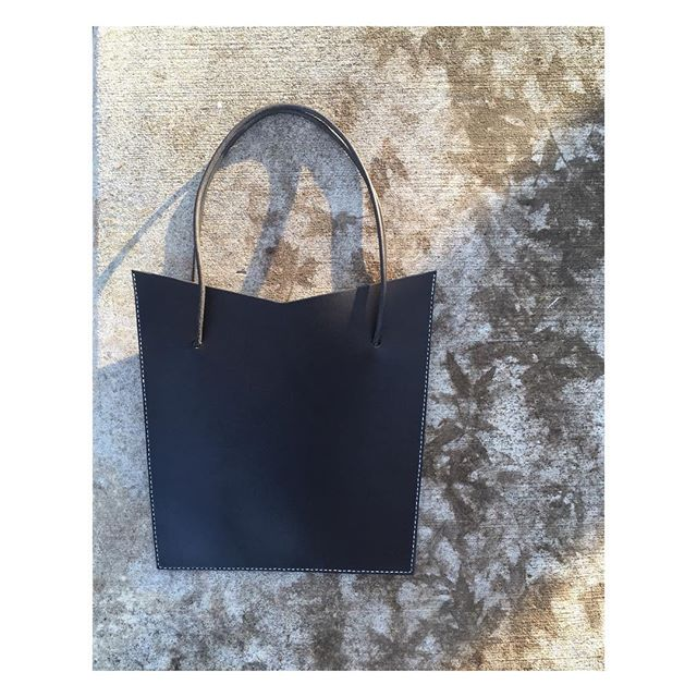 11.28.2018 Black is the new black. Custom for @universalorder. - - - - - #handstitched #handdyed #vegtan #leatherwork #forever #thankyou #blackisthenewblack #rock
