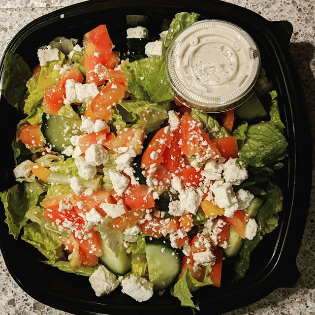 Salads to-go? Yeah, we do that 😊 #tmocafe #eatlocal #coffeeshop #sandwichshop #dearborn #michigan