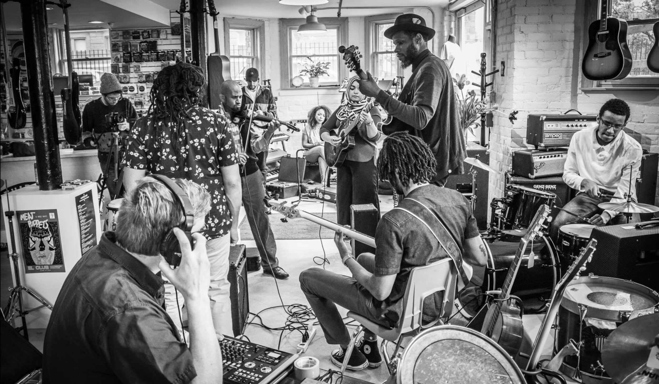 The River Street Anthology is creating a map in real time of the Michigan musical landscape. Lu Fuki & Divine Providence recorded with them in 2016 at the Third Wave Music Store. The project seeks to collect, preserve, and make accessible music covering the gamut of genres, cultures, and ages Michigan music.