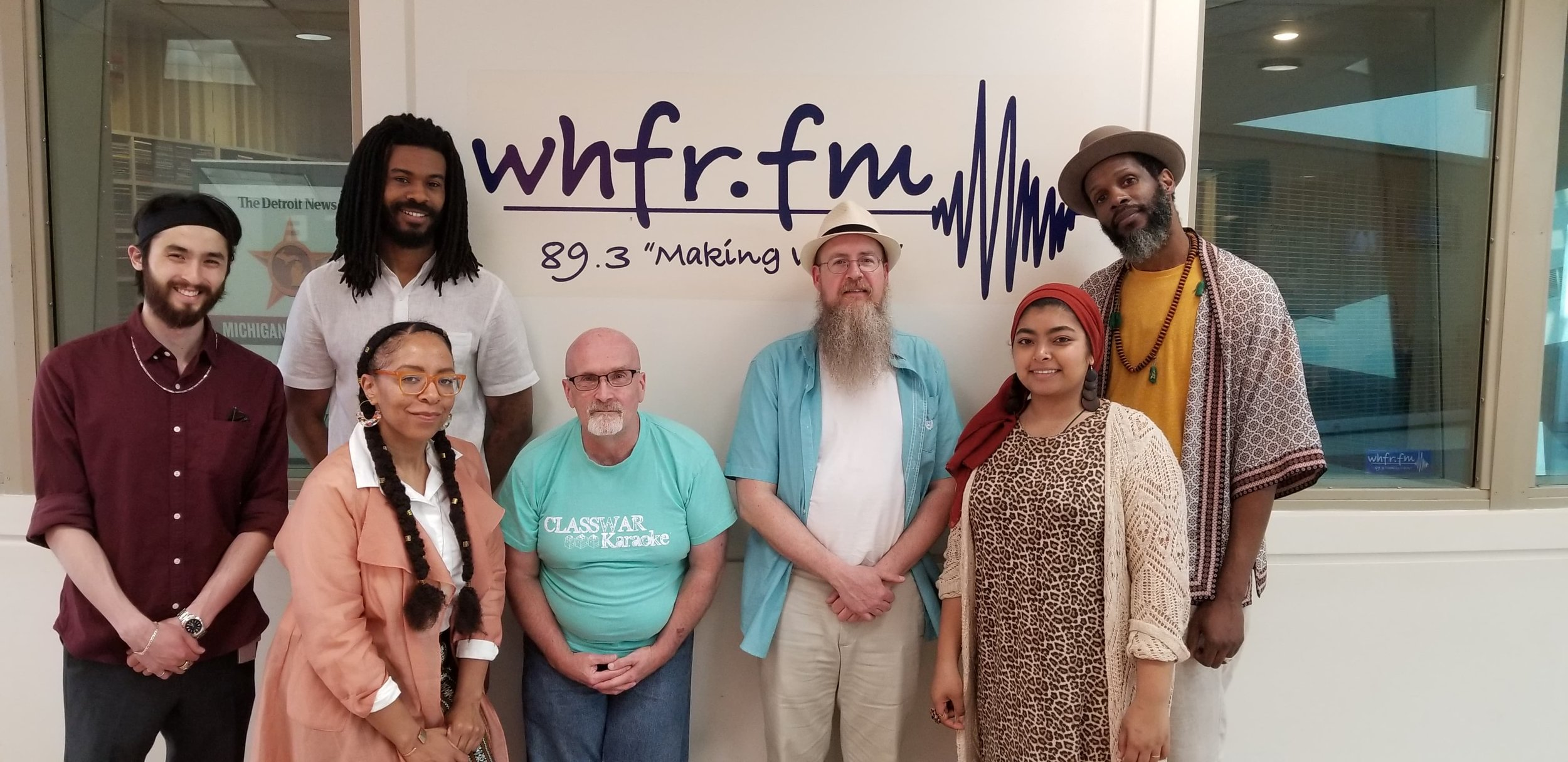 WHFR 89.3 - Lu and Divine Providence was invited to WHFR to perform their and discuss their album debut Inner Horizons. Click here to HERE the entire segment.