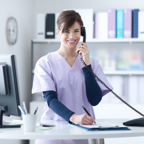 sleep specialist contacting patient for consultation