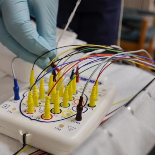 sleep testing electrodes