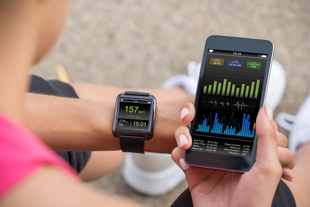 using smartphone app to track sleep health