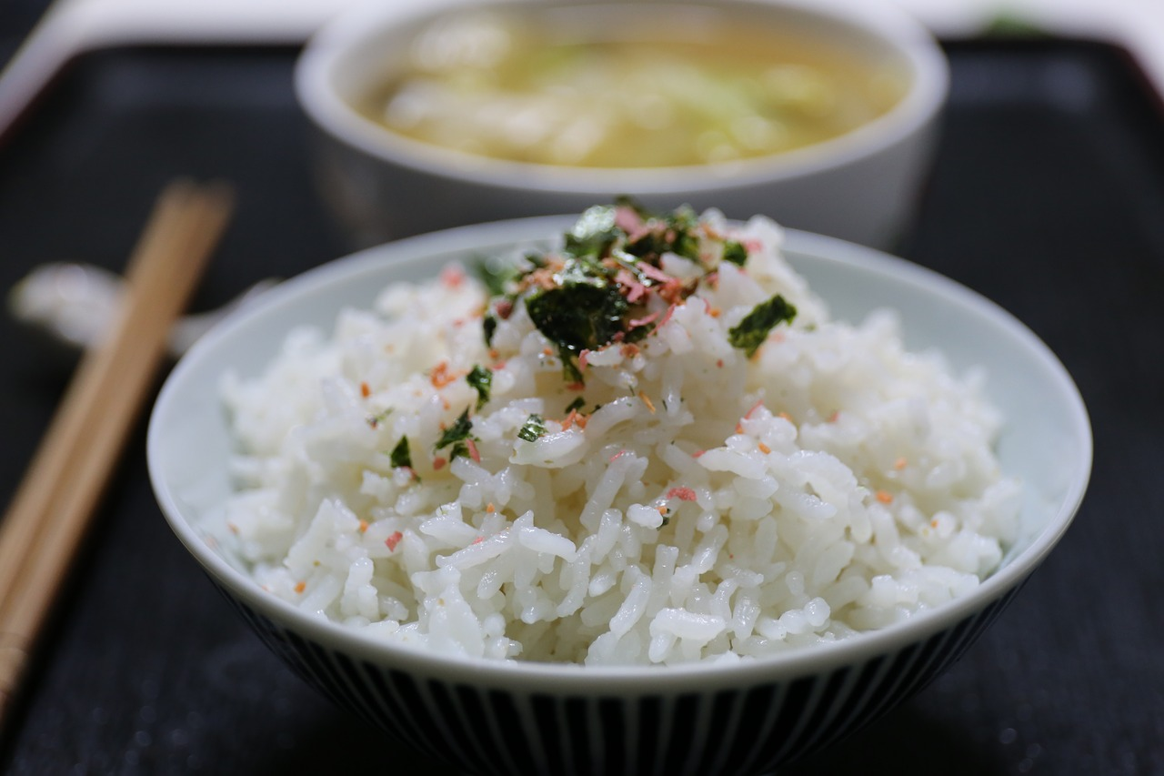Jasmine rice helps promote faster sleep