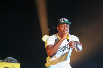 Dizzee Rascal at Forum Melbourne,  photo by  Matilda Elgood , SYN