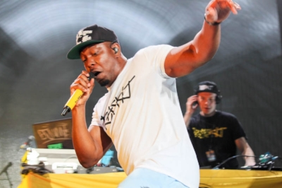 Dizzee Rascal  at Forum Melbourne: photo by  Matilda Elgood , SYN